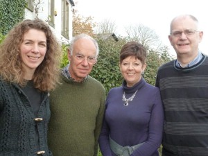 UCIF Trustees, Brian, Mhairi, Brenda and Glyn